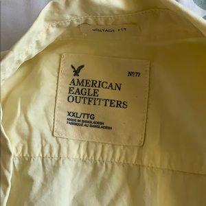 American Eagle cotton button up